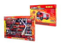 Big Daddy Fire Rescue Toy Play Set Includes Over 40 Fire Truck Toy and Accessories to Create The Perfect Emergency Scene