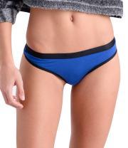 COMFORTABLE CLUB Women's Microfiber Modal Thong Panties Underwear