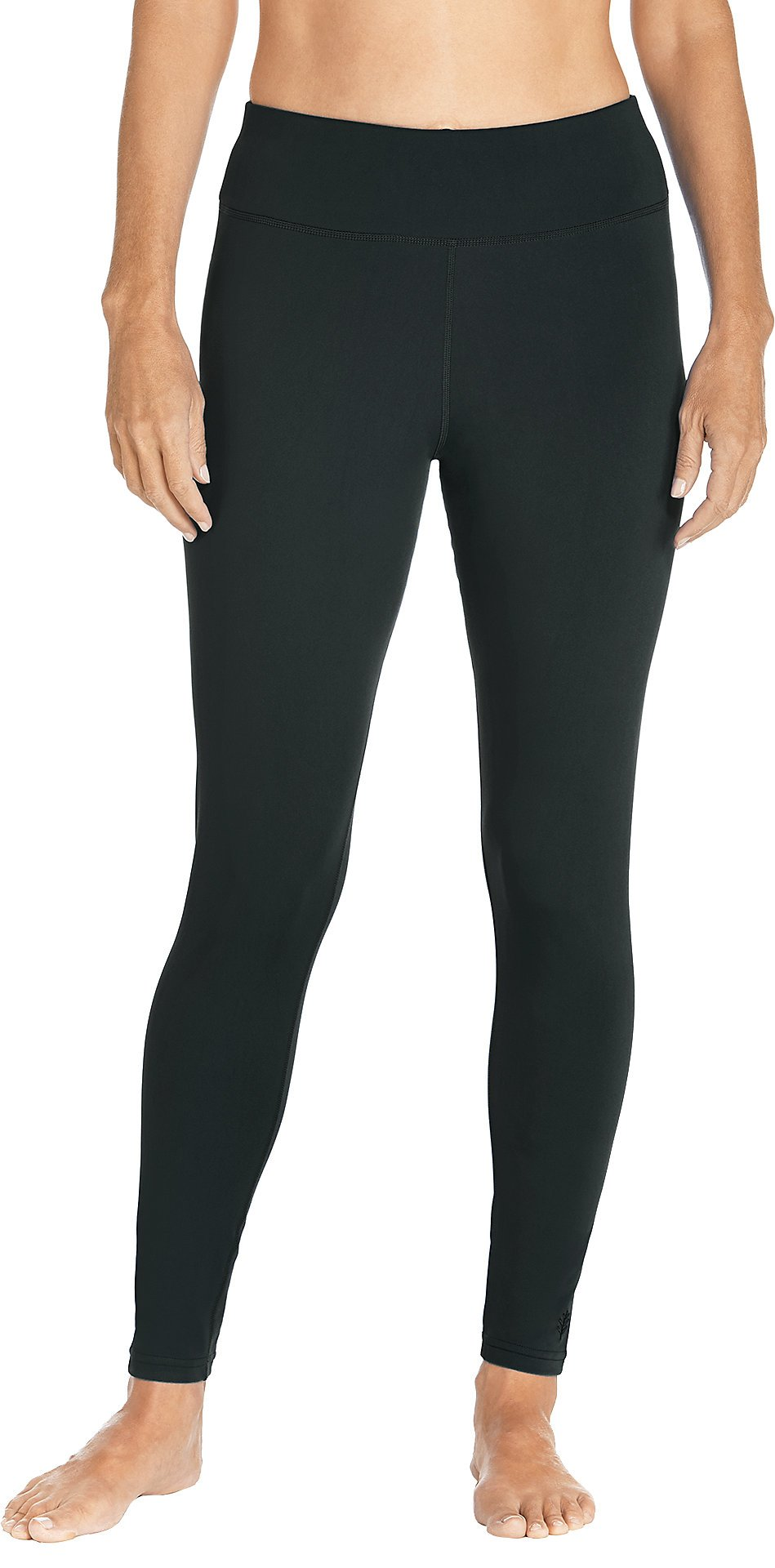 Coolibar UPF 50+ Women's Deep Water Swim Tights - Sun Protective