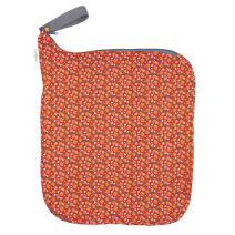 bumGenius Weekender Wet Bag - Holds 6 to 10 Diapers (Prairie Flowers)
