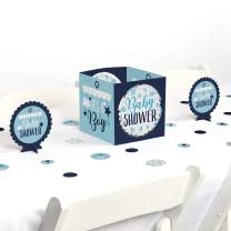 Big Dot of Happiness It's a Boy - Blue Baby Shower Centerpiece and Table Decoration Kit