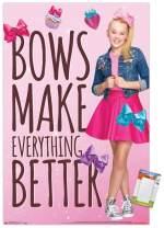 "Trends International Poster Mount JoJo Siwa - Bows, 22.375"" x 34"", Poster & Mount Bundle"