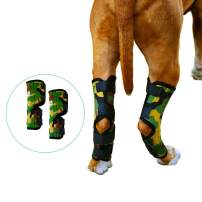 Pet Lovers Stuff Dog Leg Brace for Hind Leg - Hock Support Compression Wraps Ideal for Dogs with Arthritis in Joints, Strains or Sprains, Wound Healing, Loss of Stability (One Pair)