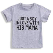 Baby Twins Clothes,Baby Boy Girl T Shirt Short Sleeve Tee Love Letter Cotton Top Summer Outfits