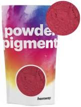 Hemway Pigment Powder Colour Luxury Ultra-Sparkle Dye Metallic Pigments for Epoxy Resin, Polyurethane Paint (Metallic Red, 50g / 1.75oz)
