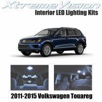 XtremeVision Interior LED for Volkswagen Touareg 2011-2015 (T3) (21 Pieces) Cool White Interior LED Kit + Installation Tool