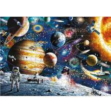 Puzzle 1000 Piece Jigsaw Puzzle for Kids Adult – Mini Cosmic Walk Jigsaw Puzzle (12inx17in)