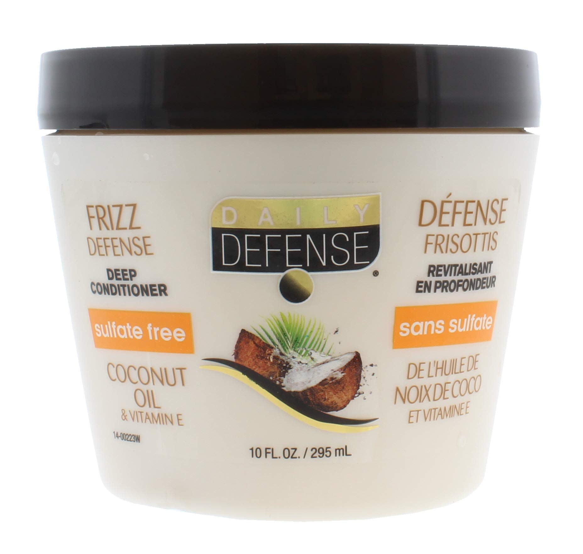 Daily defense 3 minute hair conditioner coconut oil 10 fluid ounce