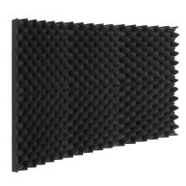 """Acoustic Foam Panels Egg Crate Foam Sound Proof Padding Studio Foam 2""""x12""""x12"""""""