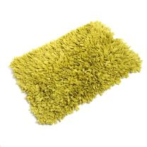 FHE Group Tissue Rug Bath Mat, 30 by 20 Inches, Chartreuse
