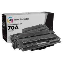 LD Remanufactured Toner Cartridge Replacement for HP 70A Q7570A (Black)