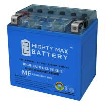 YTX14-BSGEL - 12V 12AH 200 CCA - Gel SLA Power Sport Battery - Mighty Max Battery Brand Product