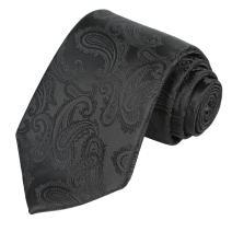 KissTies Mens Necktie Paisley Tie + Gift Box