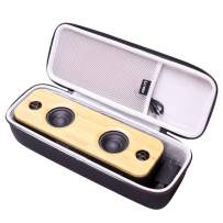 LTGEM Hard Carrying Case Compatible for AOMAIS Life 30W Bluetooth Speakers, Loud Bamboo Wood Home Audio Wireless Speaker