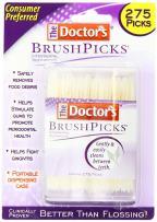 The Doctor's BrushPicks Interdental Toothpicks, 275-Picks per Pack (12-Pack)