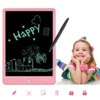 Message Board,FreeFelt LCD Writing Tablet,10Inch Large Screen Writing Tablet for Business,Home Message Board,Kid (Black) …