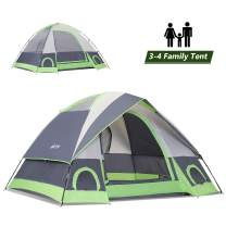SEMOO 2-3 Person Dome Family Camping Tent, Waterproof and Convenient to Fold, Lightweight with Carry Bag for Outdoor Camping Hiking