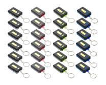 SE Assorted Color 160 Lumens COB LED Keychain Lights (24 PC.) - FL3824-24