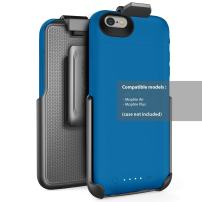 Encased Belt Clip Holster for Mophie air and Mophie Plus Juice Pack Battery Case - - for iPhone 6 / iPhone 6S [case not Included]