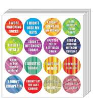 Creanoso Stickers for Adults Series 3 (5-Sheets) - Gag - Great to Stick on Any Surface - Premium Gift Set - Reward Token Ideas for Men, Women, Adults