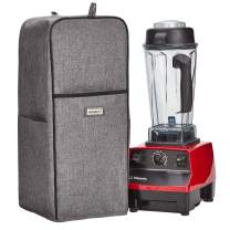 HOMEST Blender Dust Cover with Accessory Pocket Compatible with Vitamix Classic C-series 5200, Turboblend, Grey (Patent Pending)
