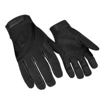 Ringers Gloves R-353 Rope Rescue Black, Palm & Finger Protection, Synthetic Leather Palm, Small