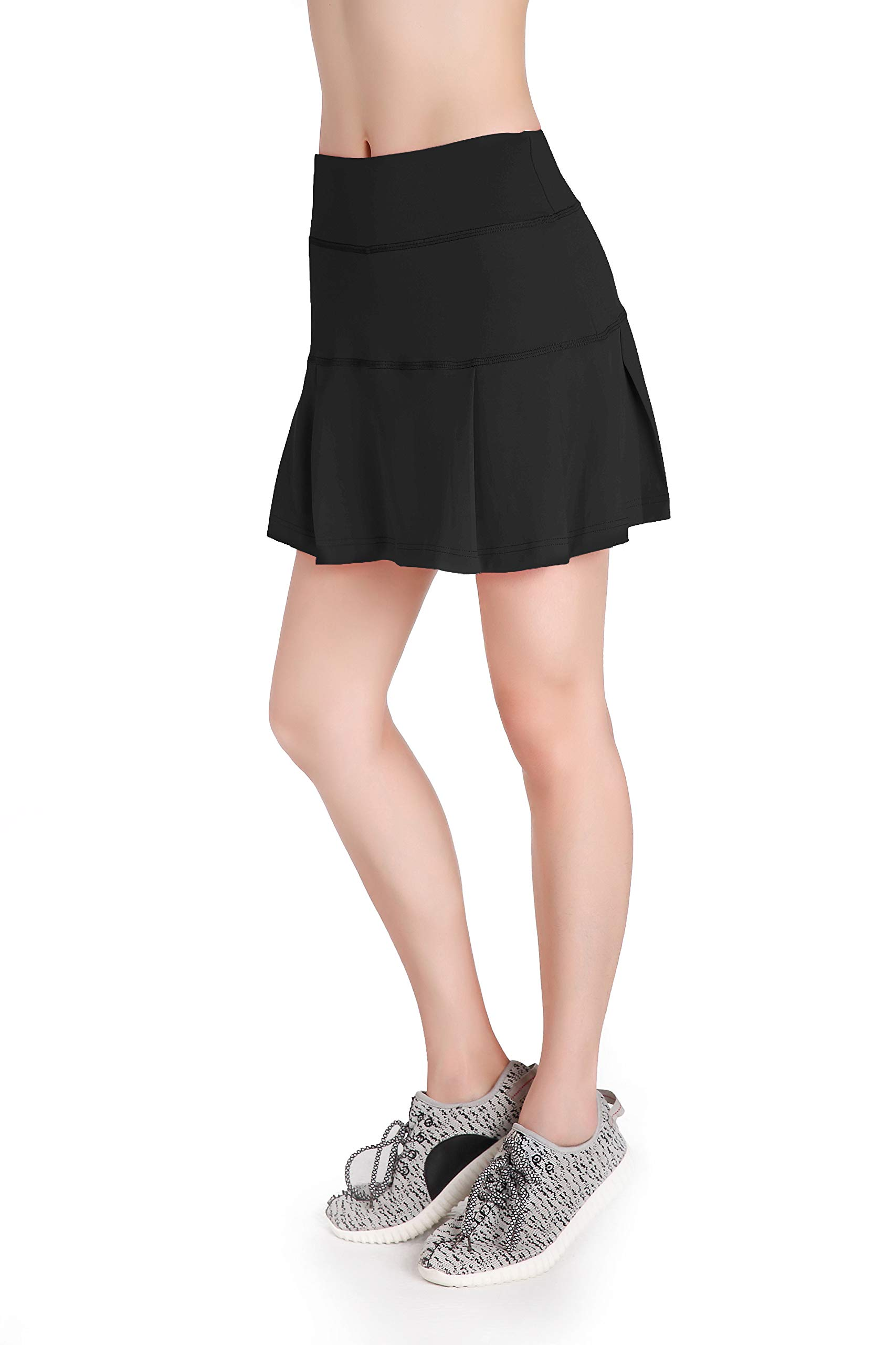 Annjoli Womens Running Skorts Golf Tennis Workout Skirt