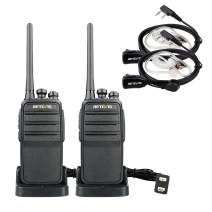 Retevis RT53 Two Way Radios Long Range 1024 CH 800 Contacts 1800mAh Encryption All Call VOX Emergency Digital Walkie Talkies with Headset (2 Pack)