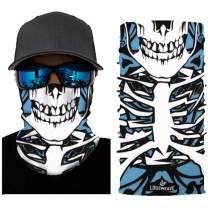 Dust Rave Bandana Face Mask,Multifunctional Headwear Magic Neck Scarf,Seamless Balaclava Bandana Tube Mask