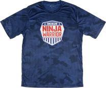 Official American Ninja Warrior Men's Camo Performance T-Shirt - Perfect for Ninjas in Training