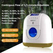 LEAGERA Portable Household Machine-30%-90% 1-7L/Min Adjustable/Large HD Display for Home Use
