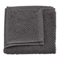 "Coyuchi Air Weight Organic Wash Cloth, 12""x12"", Slate"
