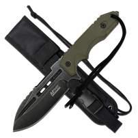 MTech Evolution Tactical Fixed Blade Knife - MTE-FIX005-TN