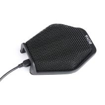 USB Conference Microphone, BOYA Table Top Mic Condenser Cardioid Desktop Computer Teleconference Microphone with Real-time Monitor 180° for Windows Mac Laptop Business Meeting Seminar