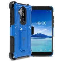 CoverON Holster Belt Clip Spectra Series for Alcatel 7 / T-Mobile REVVL 2 Plus Case, Blue