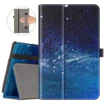 VORI Case for All-New Fire 7 Tablet (9th Generation, 2019 Release) Folio Smart Cover with Auto Wake/Sleep, Galaxy