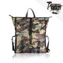 Rhinowalk Bike Bag Postman Pannier Bag(Rear Seat Bag Rack Trunk Bag Shoulder Bag Laptop Pannier Rack Bicycle Bag Professional Cycling Accessories)