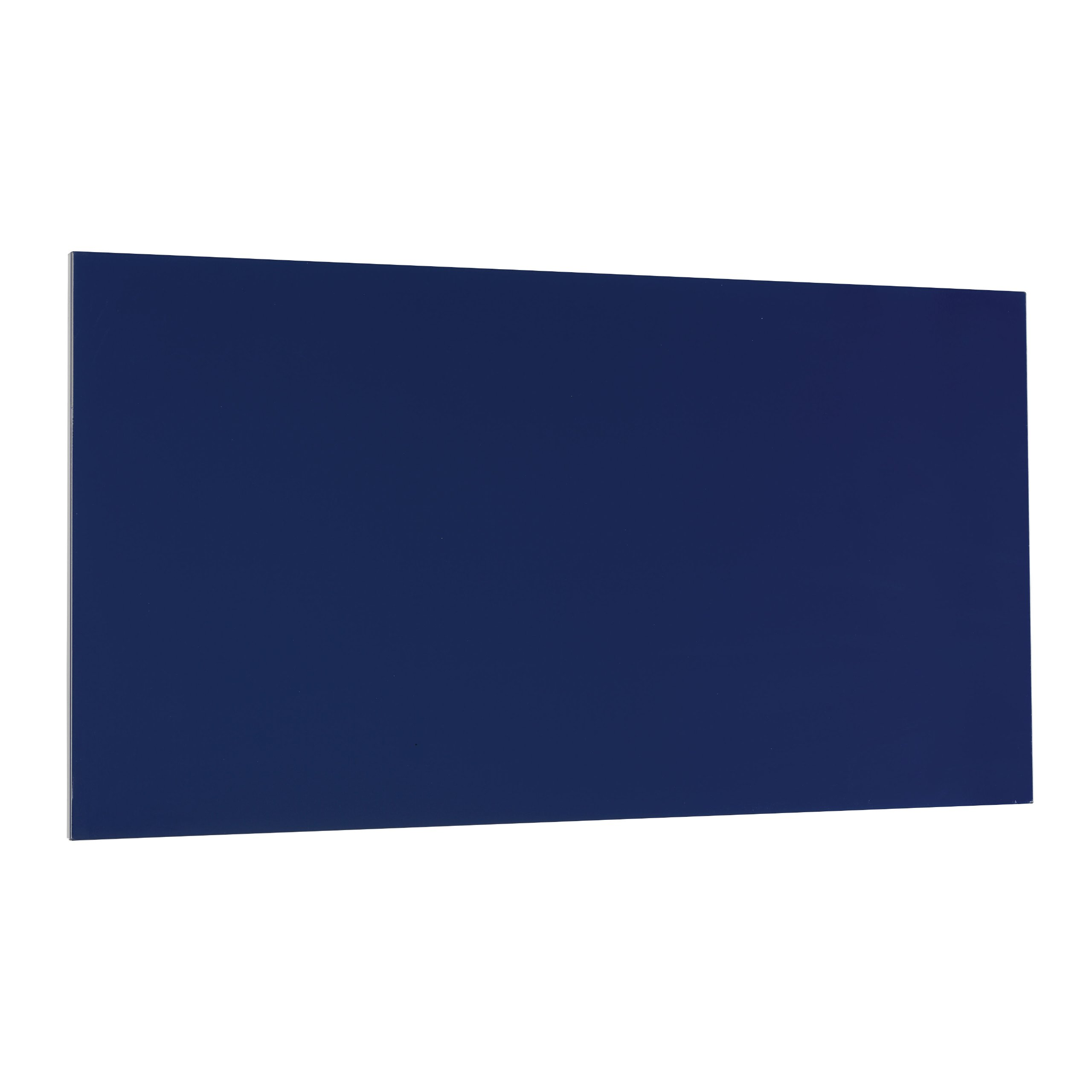 STEELMASTER Magnetic Board with Dry-Erase Pad, Pen and Magnets, 14 x 30 Inches, Blue (270163008)