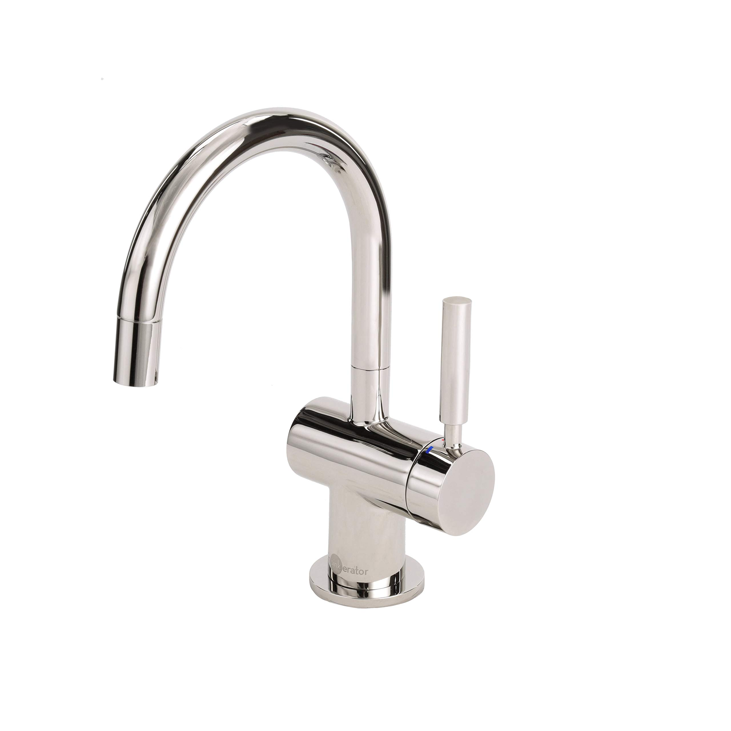 InSinkErator F-HC3300PN Indulge Modern Hot and Cool Water Dispenser Faucet, Polished Nickel