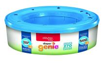Playtex Diaper Genie Refills for Diaper Genie Diaper Pails - Holds Up to 270 Diapers