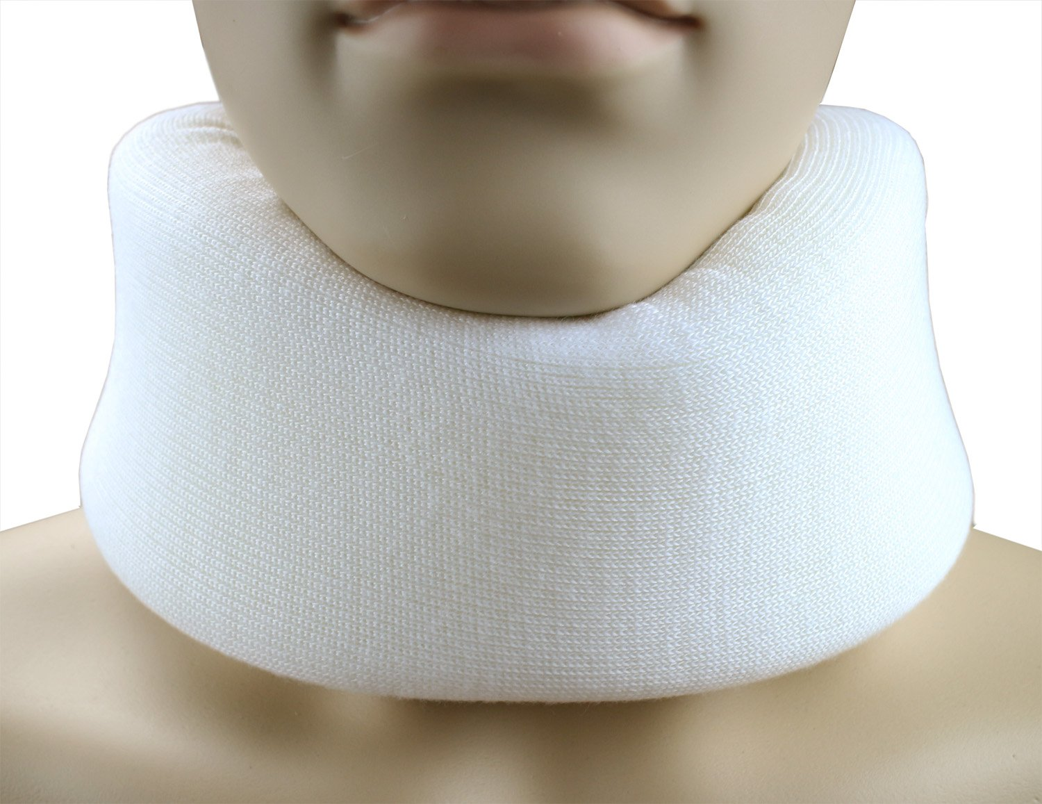 ObboMed® MB-4803N 2.5 Inch Cozy& Soft Foam Cervical Collar- Relief Neck Rest Support Brace- Wraps Aligns & Stabilizes Vertebrae (XL: 21 x 2.5 x 1 inches)