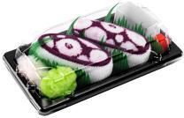Rainbow Socks - Men's Women's - Sushi Socks Box Octopus Violet - 1 Pair