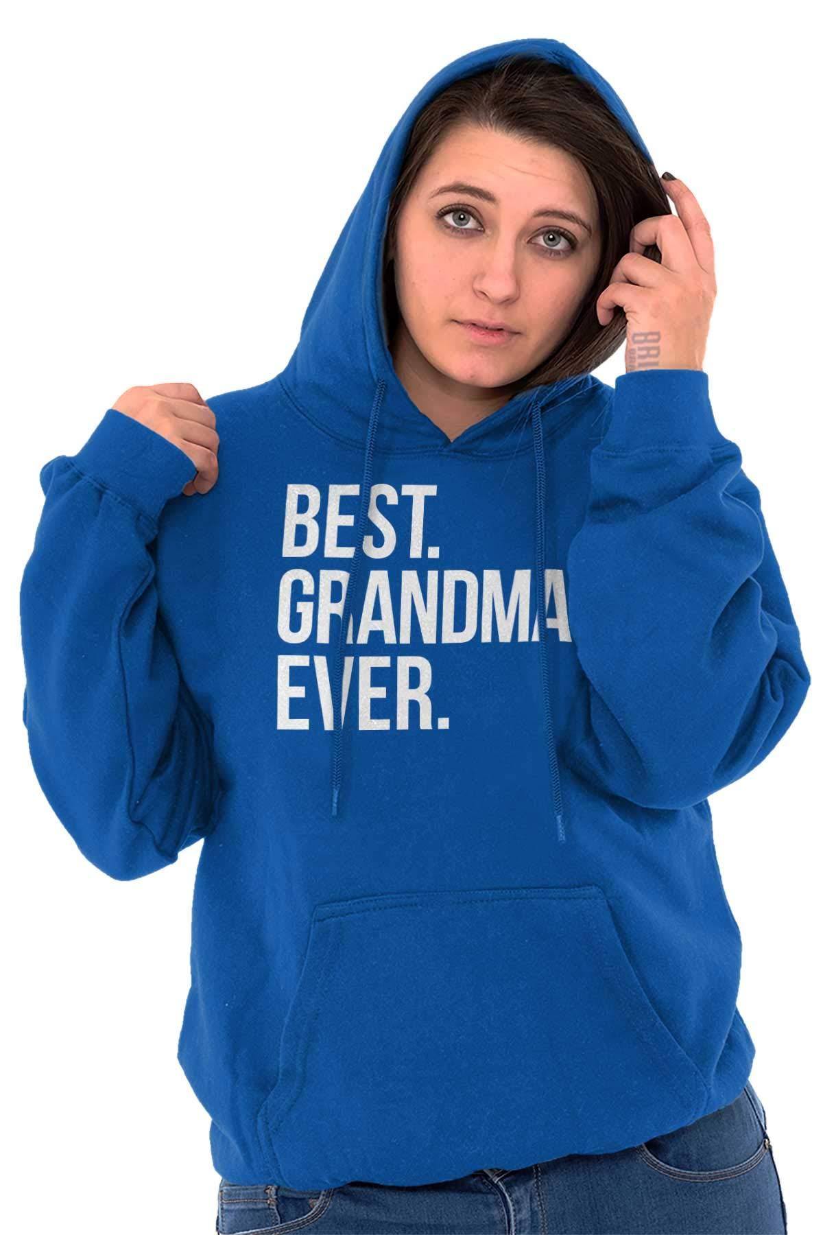 Best Grandma Ever Family Relative Love Hoodie