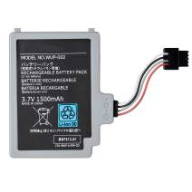 OSTENT 3.7V 1500mAh Rechargeable Battery Pack Replacement for Nintendo Wii U Gamepad