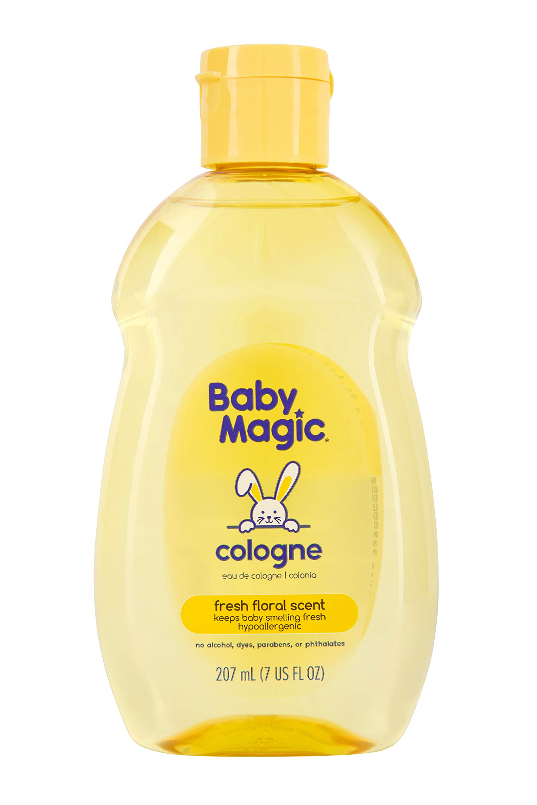 Baby Magic Cologne | 7oz | Hypoallergenic & Alcohol-Free | Free of Parabens, Phthalates, Sulfates and Dyes