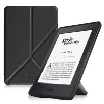 Fintie Origami Case for Kindle Paperwhite - Fits All Paperwhite Generations Prior to 2018 (Not Fit All-New Paperwhite 10th Gen), Black