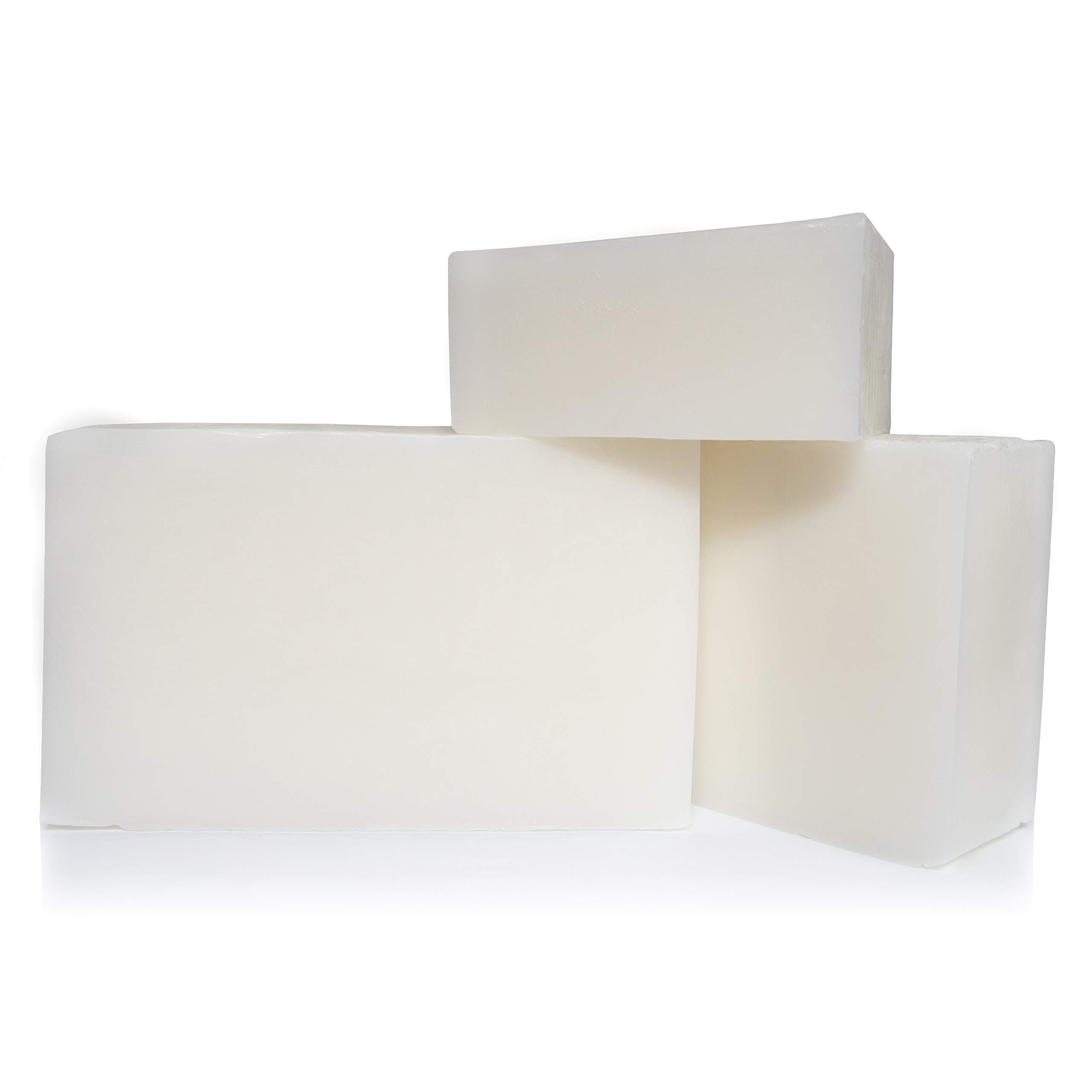 10 LB - White Melt and Pour Soap Base by Velona | Natural Bars for The Best Result for Soap-Making