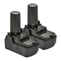 2 Pack ExpertPower10.8v - 12v 1.5Ah Li-ion Battery for Hitachi 331065, BCL1015, BCL1015S