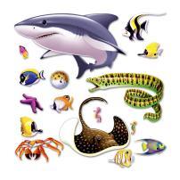 Marine Life Props Party Accessory (1 count) (16/Pkg) Pkg/12