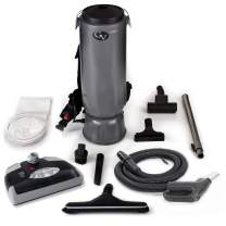 GV 10 Quart Commercial Backpack Vacuum with Power Nozzle Head